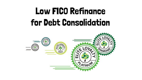 Low FICO refinance for Debt Consolidation